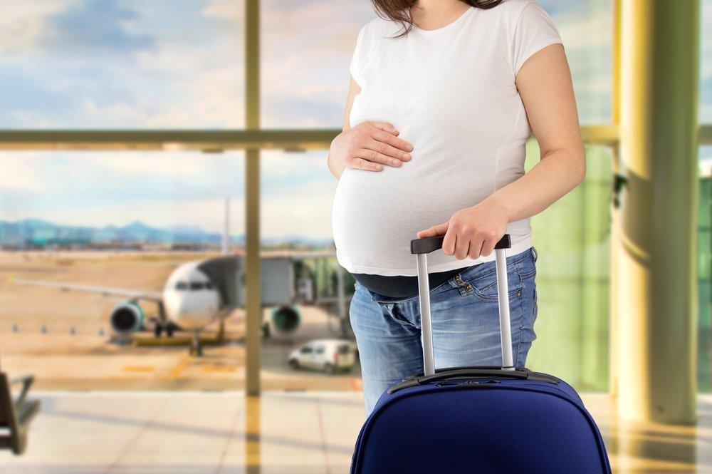 Viajes durante el embarazo.